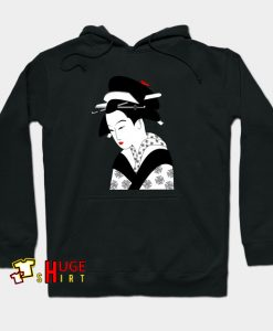 Beautiful Geisha Japanese Hoodie AL5D0