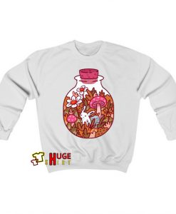 Bunny In A Bottle Sweatshirt AL29JN1