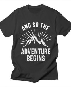 Adventure Begins T-shirt SD22F1