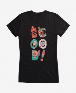 All Of Scooby's Things Girls T-Shirt DE15F1