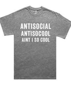 Anti Social T-shirt SD17F1
