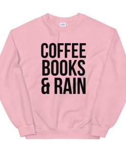 Books & Rain Sweatshirt SD22F1