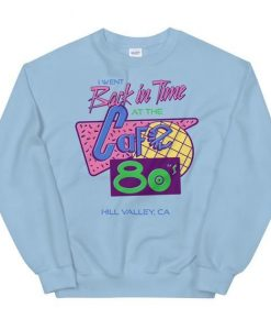 Cafe 80s Sweatshirt AL5F1