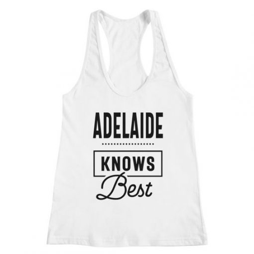 Adelaide Personalized Tank Top DT23MA1